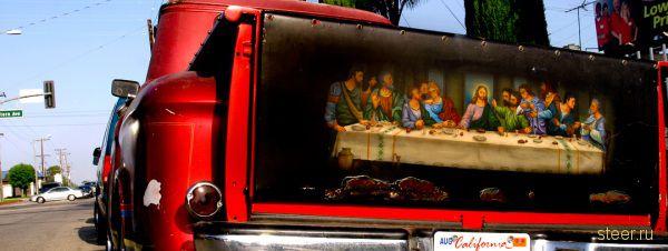 Аэрография для грузовиков и пикапов в американо-мексиканском стиле (фото)