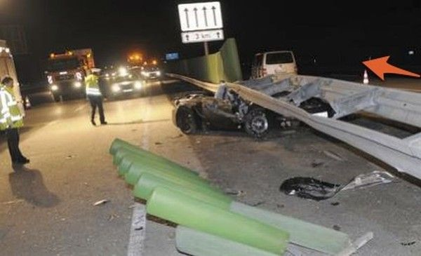 Эксперементальный Porsche разбился во время тестового заезда (фото)