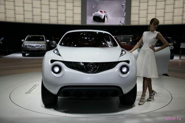 концепт кроссовера Nissan Qazana