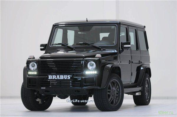 Brabus G V12 S - Черная сила  (фото)