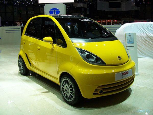 Tata Nano: Малышка на $2 тыс. (фото)