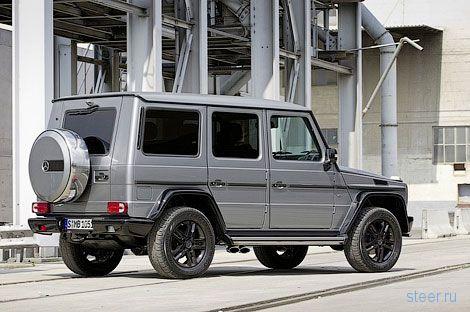Компания Mercedes-Benz показала финальную версию трехдверки G-Class (фото)