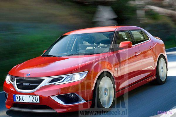 Первые фото нового Saab 9-3 (фото)