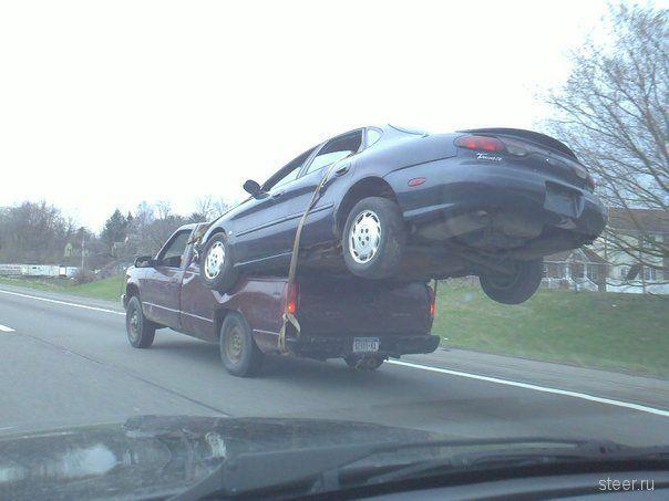 Экстремальная транспортировка по-американски (фото)