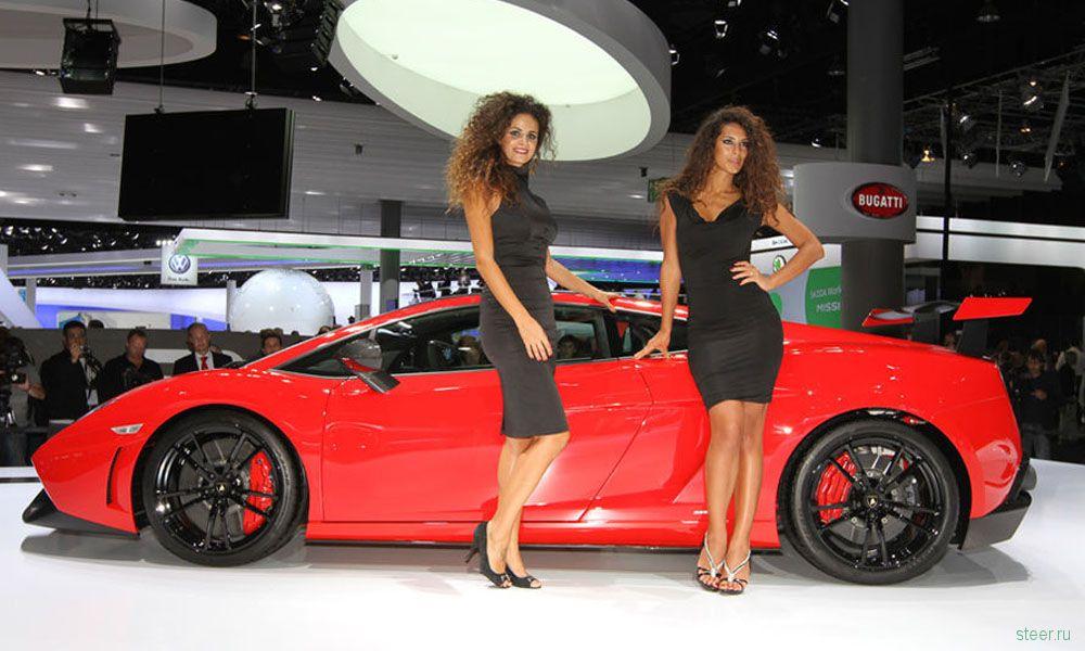 Лучшие девушки автосалона во Франкфурте (фото)