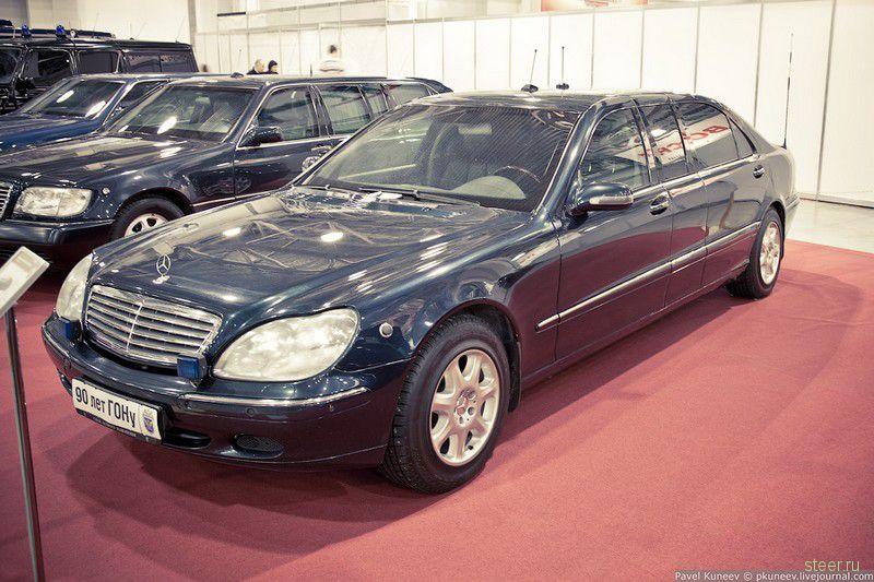 Зарубежные авто Гаража особого назначения. Авторские фото Павла Кунеева