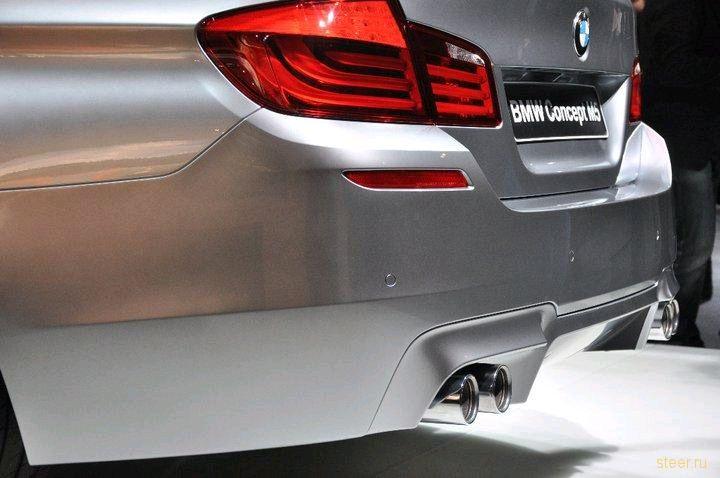 Новая BMW M5. Первые официальные фото (фото)