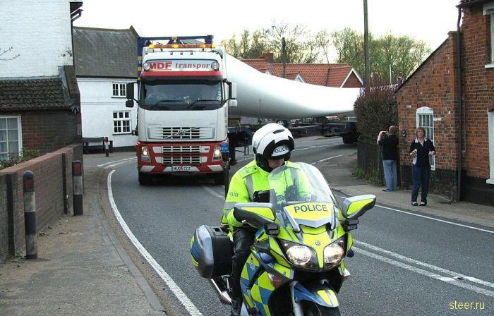 Перевозка негабаритных грузов (фото)