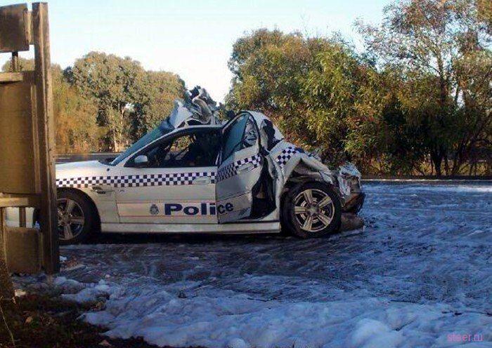 Отрихтованный полицейский Holden SS Commodore (фото)