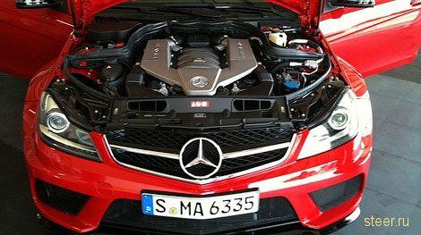 Первые фото самого мощного купе Mercedes-Benz C-Class Mercedes-BenzC63 AMG Black Series (фото)