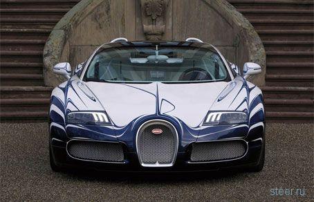 Фарфоровый Bugatti Veyron «L'Or Blanc» - если супница для вас слишком медлительна (фото)