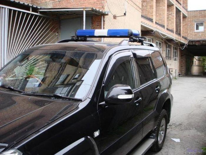 VIP-мигалка, не требующая разрешения (фото)