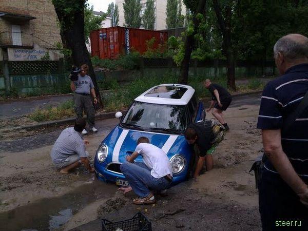 Слишком Mini для наших дорог (фото)