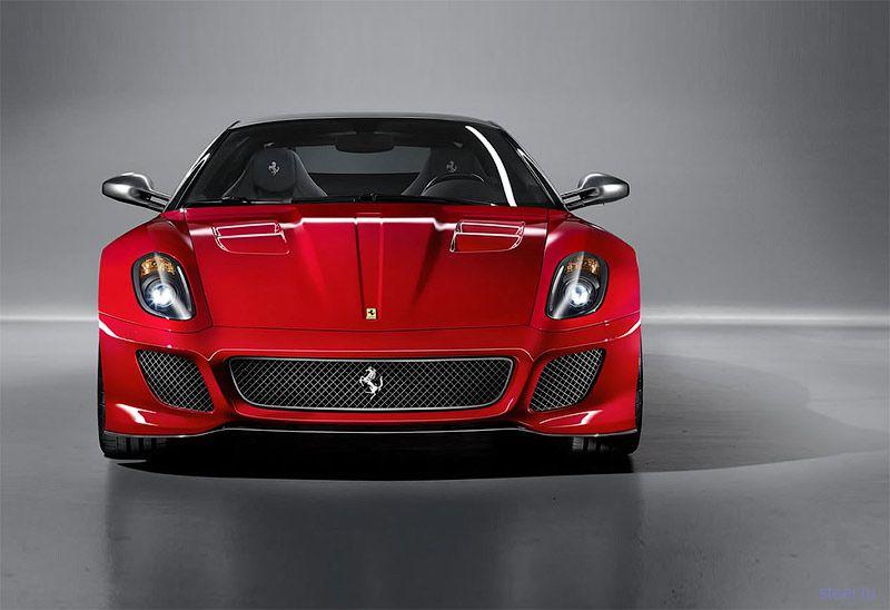 Ferrari 599 GTO: первые фото самого быстрого суперкара за всю историю фирмы (фото)