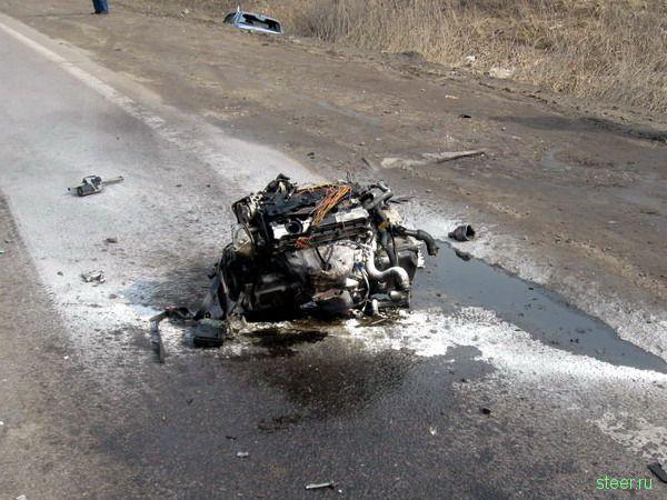 Страшная авария на Дмитровском шоссе (фото)