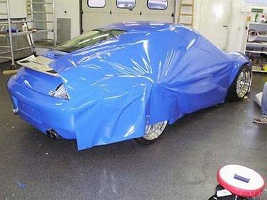 Самый простой и быстрый способ поменять цвет машины (фото)