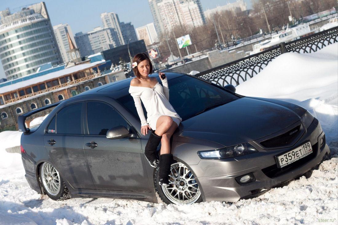 Секс в российской машине 5 фотография