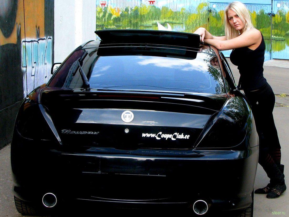 Русские женщины в машине 13 фотография