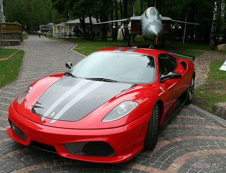 Российский тюнинг для Ferrari в честь Су-35 (фото)