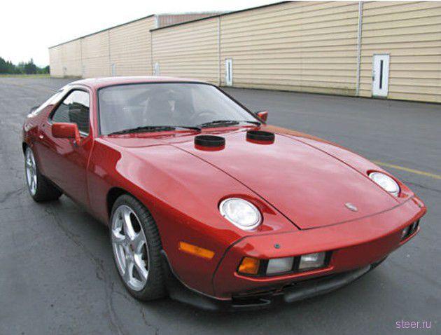 Porsche 928 с вертолетным двигателем выставили на eBay (фото и видео)