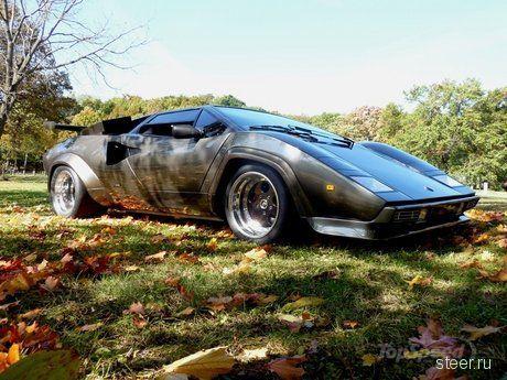 Самодельный Lamborghini Countach Кена Имхоффа почти как настоящий (фото)