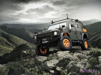 Mercedes-Benz показал концепт военного внедорожника (фото)