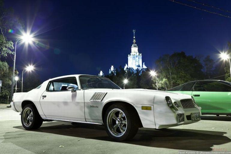 Слёт любителей американских автомобилей (фото)