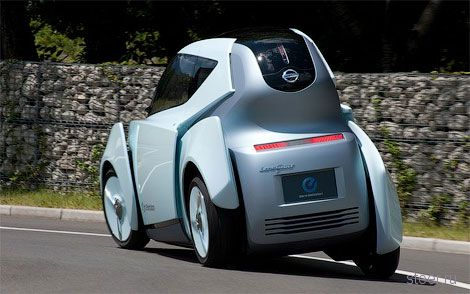 Nissan Land Glider: прототип двухместного электрокара (фото)