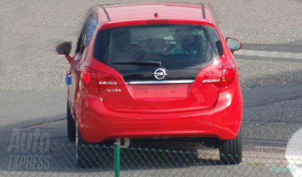 Opel Meriva без камуфляжа (фото)