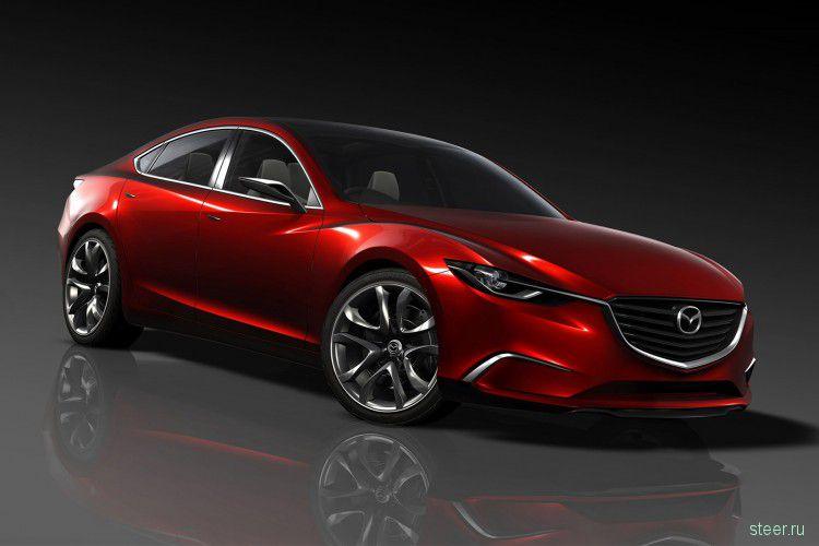 Mazda Takeri : Новую Mazda6 превратят в купе (фото)