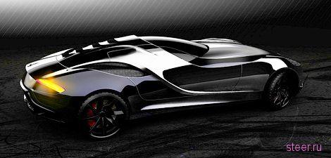 Итальянцы показали дизайн нового суперкара Vittoria (фото)