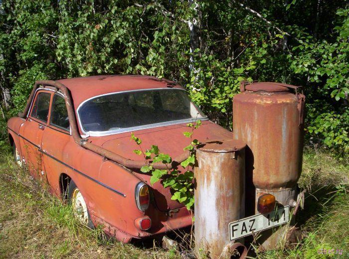 Не бензином единым : автомобили на дровяном топливе (фото)