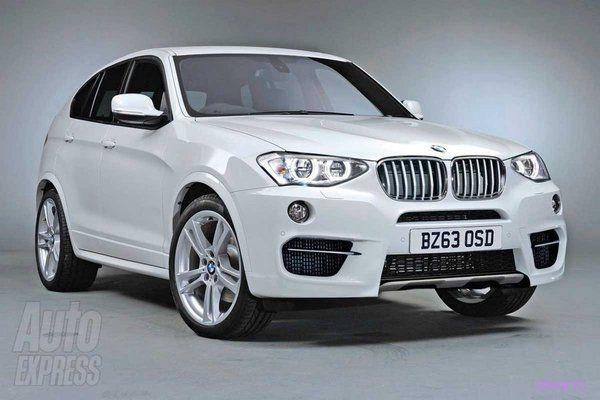 Первые изображения BMW X4 (фото)