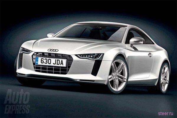 Первые изображения новой Audi TT (фото)
