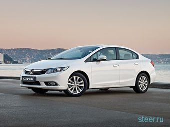 Honda рассекретила внешность седана Civic (фото)