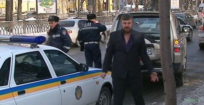 Украинского священника бес попутал (фото и видео)