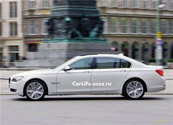 BMW 760i/760iL: Флагман BMW вышел на арену битвы (фото)