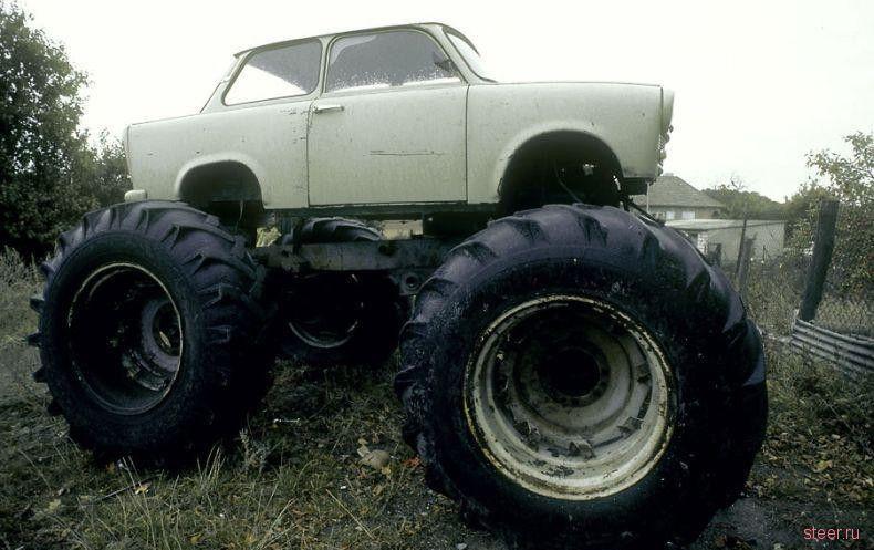 Большие колеса.