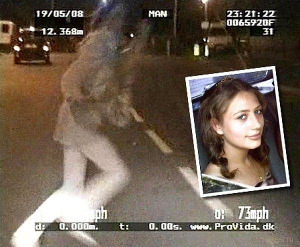 Полицейский сбил школьницу на скорости в 117 км/ч (фото и видео)
