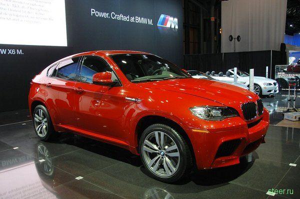 Премьера кроссовера BMW X6 M, 555 л.с. в красной лаковой оболочке (фото)