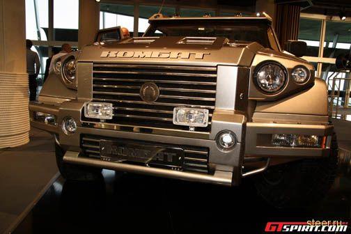 Автомобиль Комбат t98 представлен на шоу в Монако