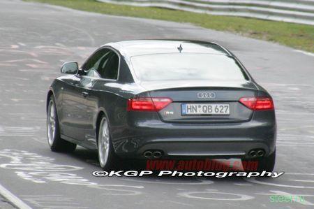 Audi TT-RS и RS5 засекли на тестах (фото)