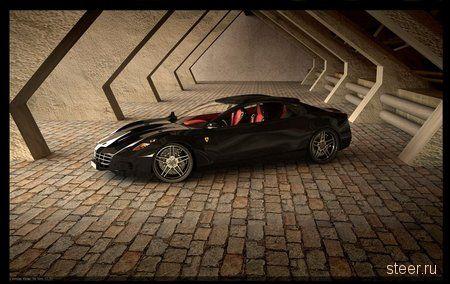 Ferrari Four Door Coupe
