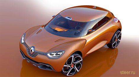 Renault Captur : маленький кроссовер от Renault (фото)
