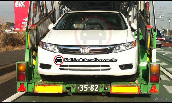 Рассекречен новый Honda Civic (фото)