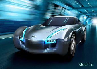 Nissan показал концептуальное заднеприводное электрическое спорт-купе: до сотни менее пяти секунд (фото)