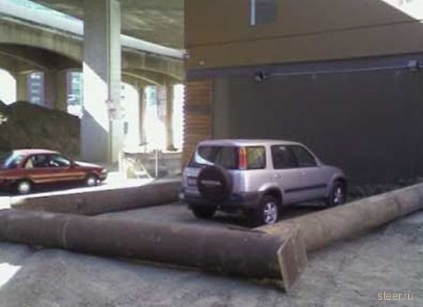 Парковочные казусы (фото)