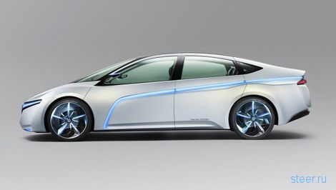 Honda построила большой хэтчбек Advanced Cruiser-X с расходом топлива 0,9 литра (фото)