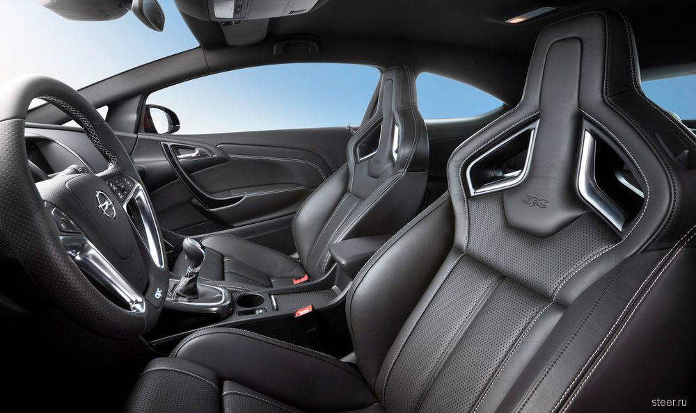 Новая Opel Astra OPC — самая мощная модификация модели (фото)