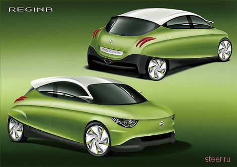 Suzuki рассекретила прототип микролитражки Regina (фото)
